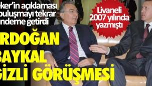 Sedat Peker Erdoğan ve Baykalın gizli görüşmesini Hasan Doğan ve Korkmaz Karaca ayarladı İddiası