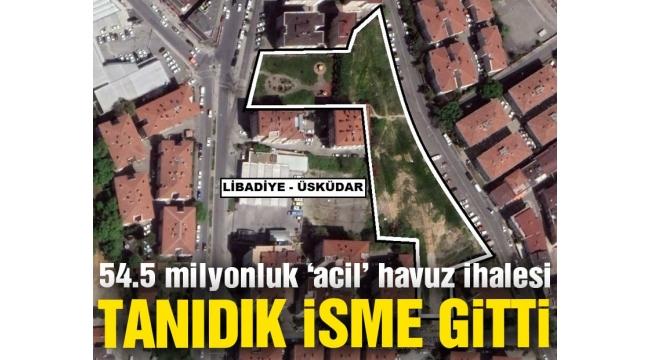 AKP'li belediyenin 54.5 milyonluk 'acil' havuz ihalesi tanıdık isme gitti
